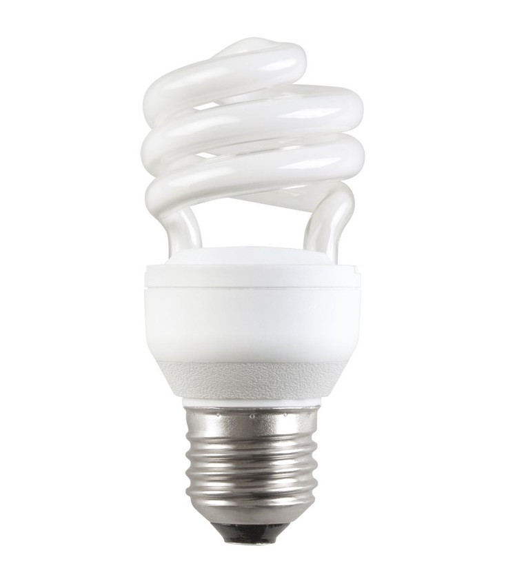 Лампа энергосберегающая КЭЛ-FS Е14 15Вт 2700К Т2 спираль ИЭК