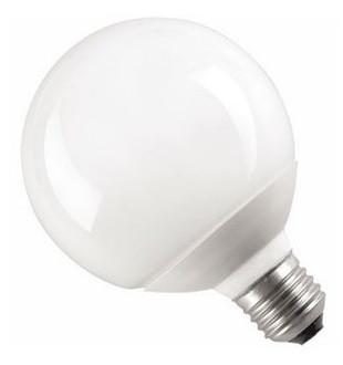 Лампа шар КЭЛ-G Е14 9Вт 2700К ИЭК