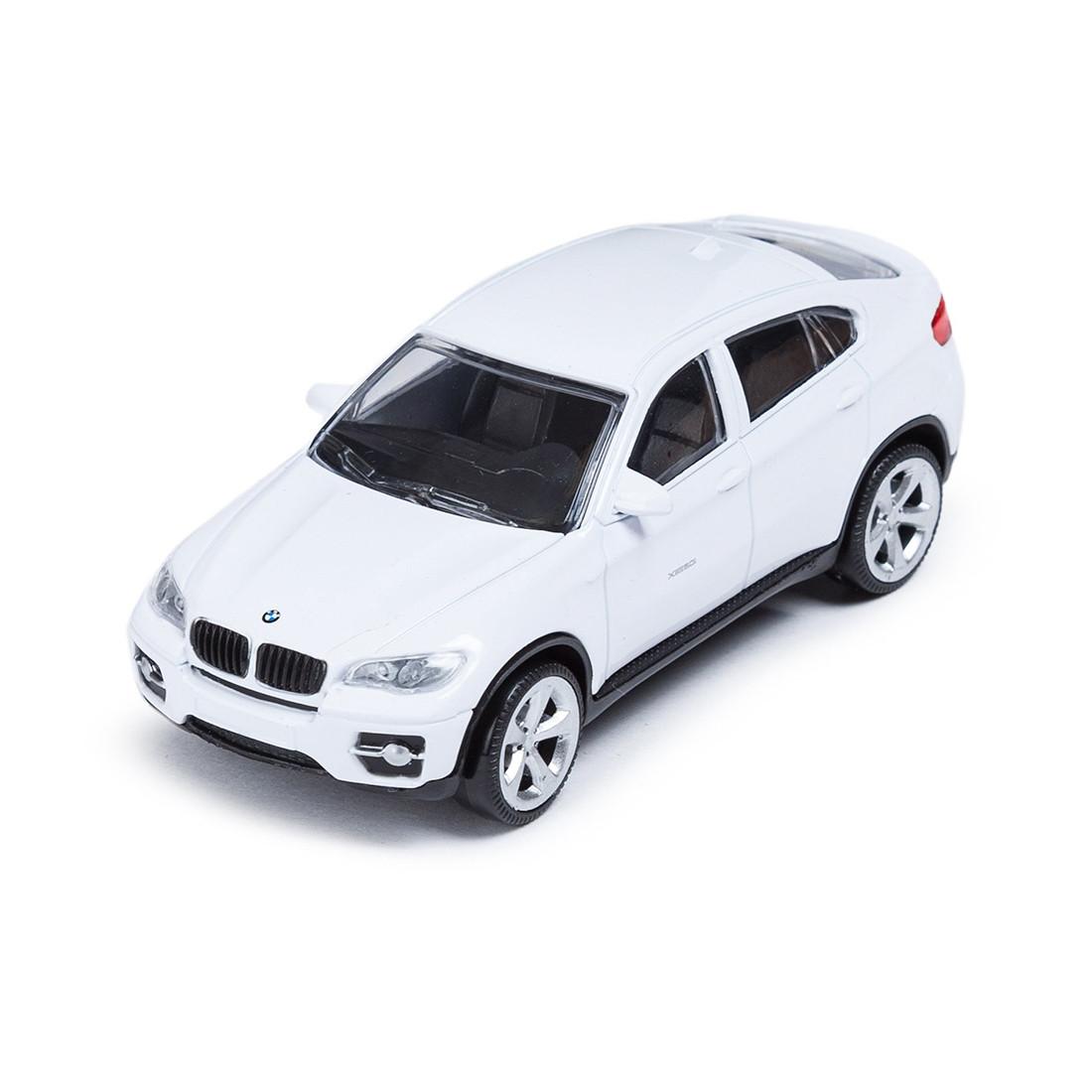 Металлическая машинка RASTAR 33700W BMW X6 (11 см, White)