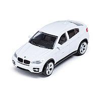 Металлическая машинка RASTAR 33700W BMW X6 (11 см, White), фото 1