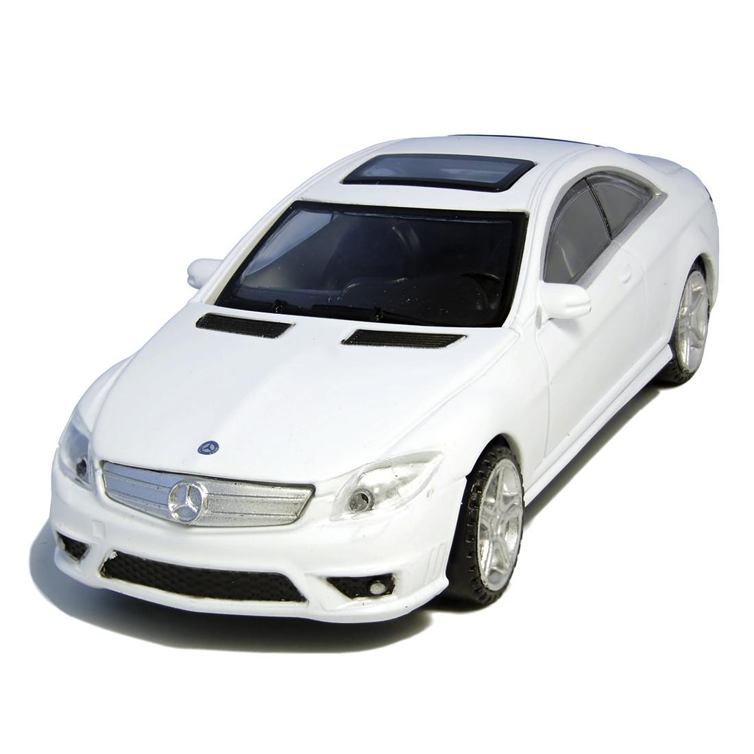 Металлическая машинка RASTAR 34300W Mercedes-Benz CL 63 AMG (11 см, White)