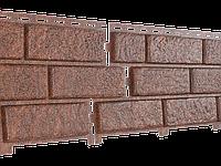 Стоун Хаус Кирпич КРАСНЫЙ Длина  3025 мм, Ширина  230 мм, Площадь 1 шт.  0,695 кв.м  Фасадные панели, фото 1