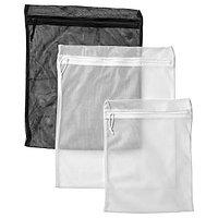 Мешок для белья ПЛУМСА 3 шт. ИКЕА, IKEA
