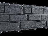 Стоун Хаус Кирпич ГРАФИТОВЫЙ СЕРЫЙ  Длина  3025 мм, Ширина  230 мм, Площадь 1 шт.  0,695 кв.м  Фасадные панели, фото 1