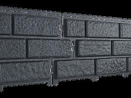 Стоун Хаус Кирпич ГРАФИТОВЫЙ СЕРЫЙ  Длина  3025 мм, Ширина  230 мм, Площадь 1 шт.  0,695 кв.м  Фасадные панели