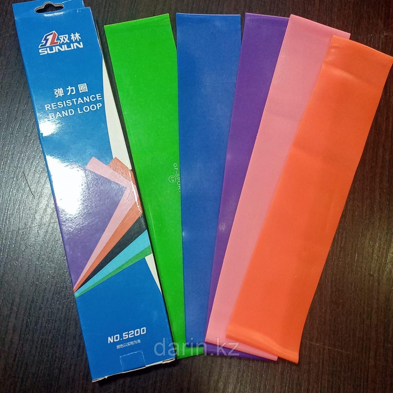 Резинки для фитнеса комплект 5 штук - фото 3