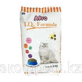 Apro IQ Formula  корм для взрослых кошек Курица с Тунцом, 8кг