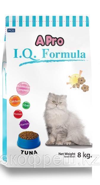 APRO I.Q Formula Тунец (8кг) Сухрой корм для кошек