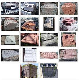 Блоки, Накрывки, Тумбы, Цоколь цементно-бетонные
