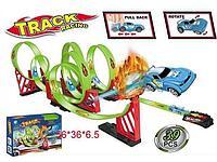 Трек Global Toys + 2 машинка 39 пр.