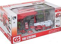 Игровой набор автозаправка Fire Engine