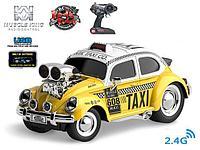 Радиоуправляемая машина Taxi Wangfeng со светом и звуком MK8132B