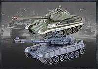 Радиоуправляемый Танковый бой со светом и звуком Zegan 99820, фото 1