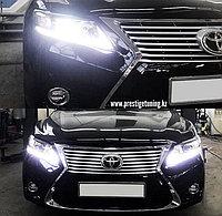 Передний бампер на Camry V40/45 и оптика в стиле Lexus