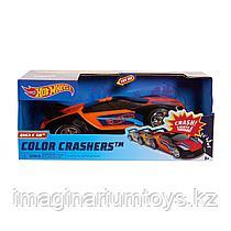 Машинка Хот Вилс меняющая цвет Hot Wheels Race N Crash 20 см