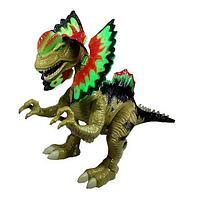 Динозавр Дилофозавр WenSheng со свет. и звуком
