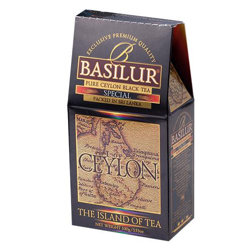 Чай чёрный рассыпной Остров Цейлон Особый Special, 100гр Basilur