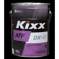 Трансмиссионное масло масло Kixx ATF DX-III  20литров