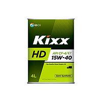 Моторное масло KIXX HD 15w40 4литра