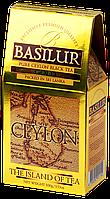 Чай чёрный рассыпной Остров Цейлон Золотой Gold, 100гр Basilur
