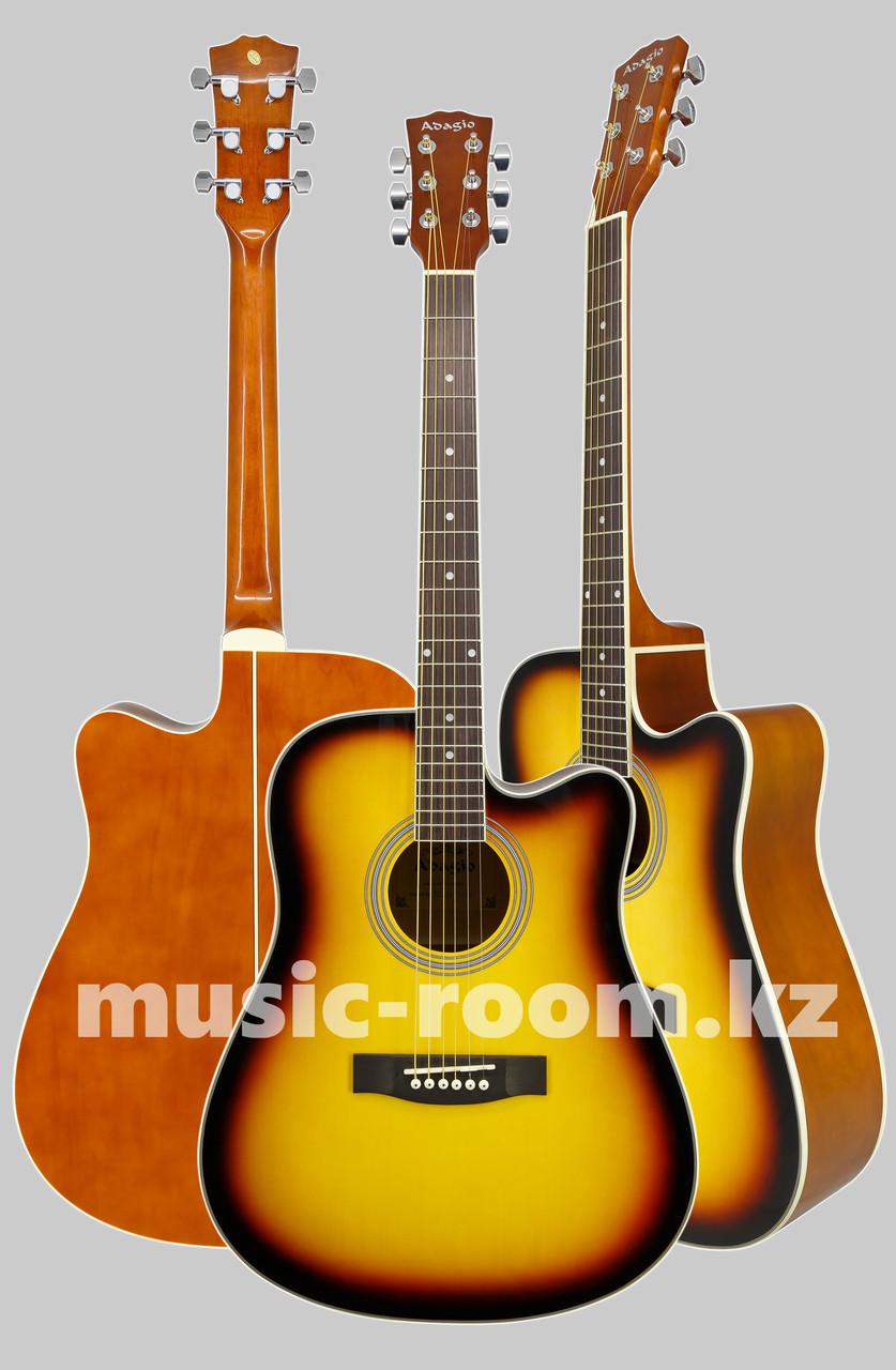 Акустическая гитара  Adagio MDF-4170C SB