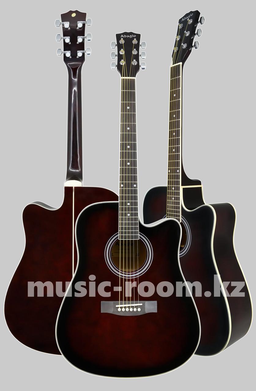 Акустическая гитара Adagio MDF-4170C/WRS