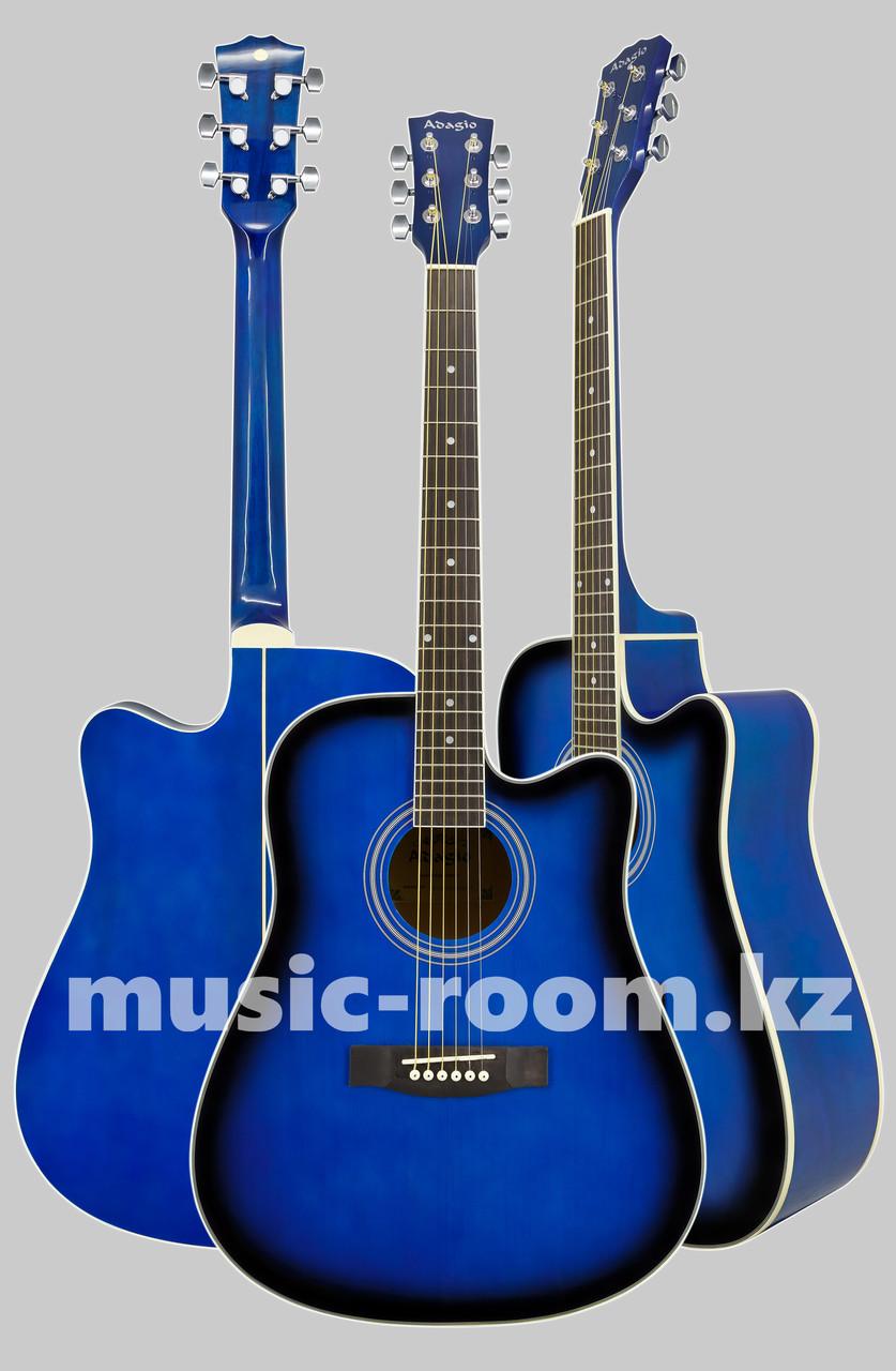 Акустическая гитара  Adagio MDF-4170C BLS