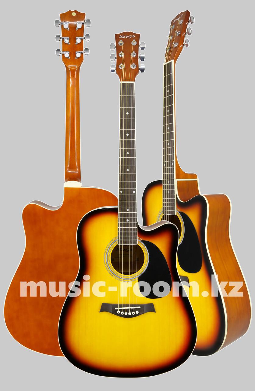 Акустическая гитара Adagio MDF-4171C SB