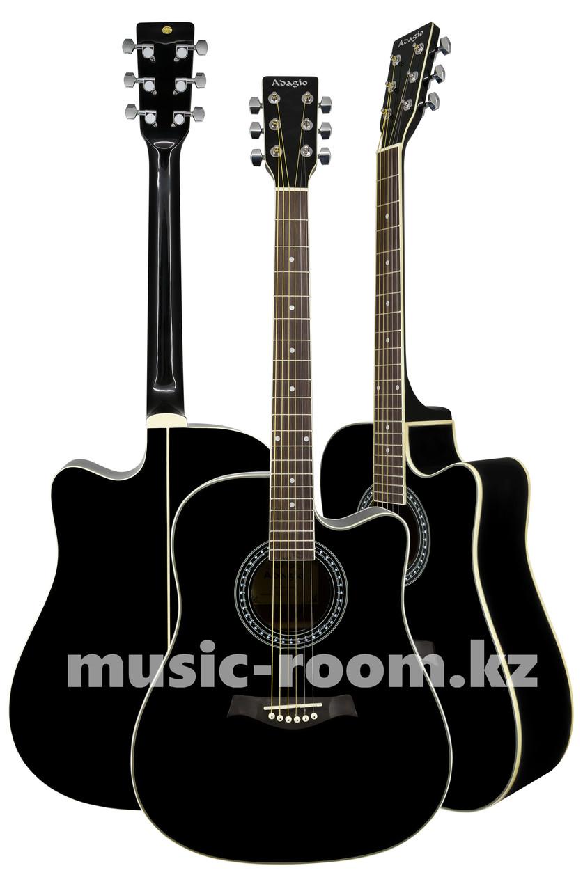 Гитара акустическая Adagio MDF-4122СBK