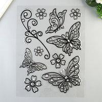 Объёмные наклейки Room Decor 'Ажурные бабочки' 41х29 см