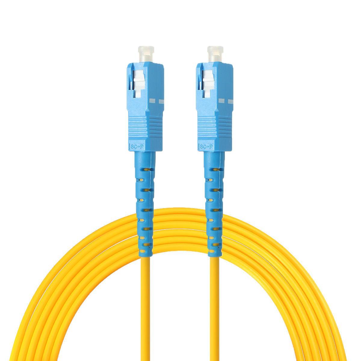 3M SC-SC Одномодовый оптоволоконный патч-кабель . Оптический сетевой кабель