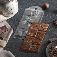 Форма для шоколада 7x15x1 см 'Лесенка'