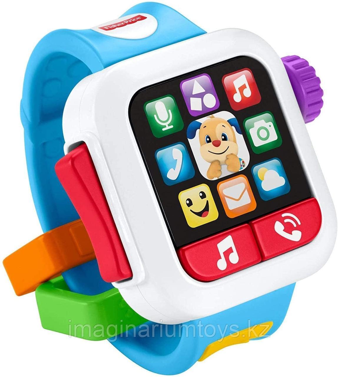 Развивающая интерактивная игрушка для малышей «Часы» Fisher-Price