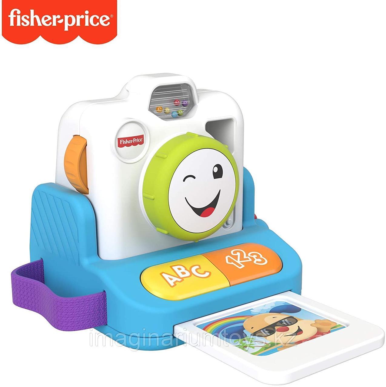 Игрушка интерактивная для малышей «Фото камера» Fisher-Price