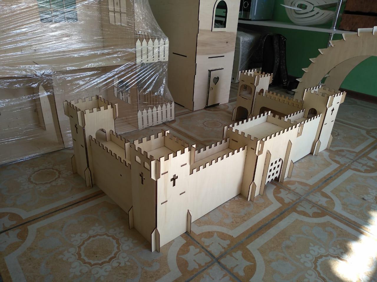 Детский игровой ЭКО замок