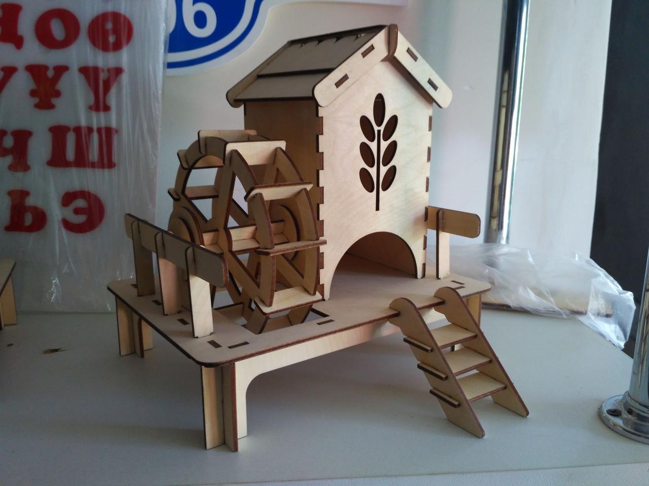 Чайный домик с Колесом