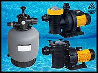 Насосы и песочные фильтра для бассейна