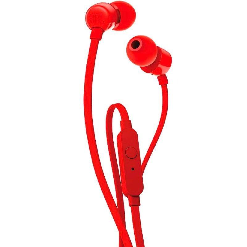 Наушники вставные JBLT110 927638 (RED)