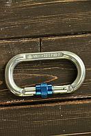 Карабин Овал дюралевый с муфтой keylock Vertical