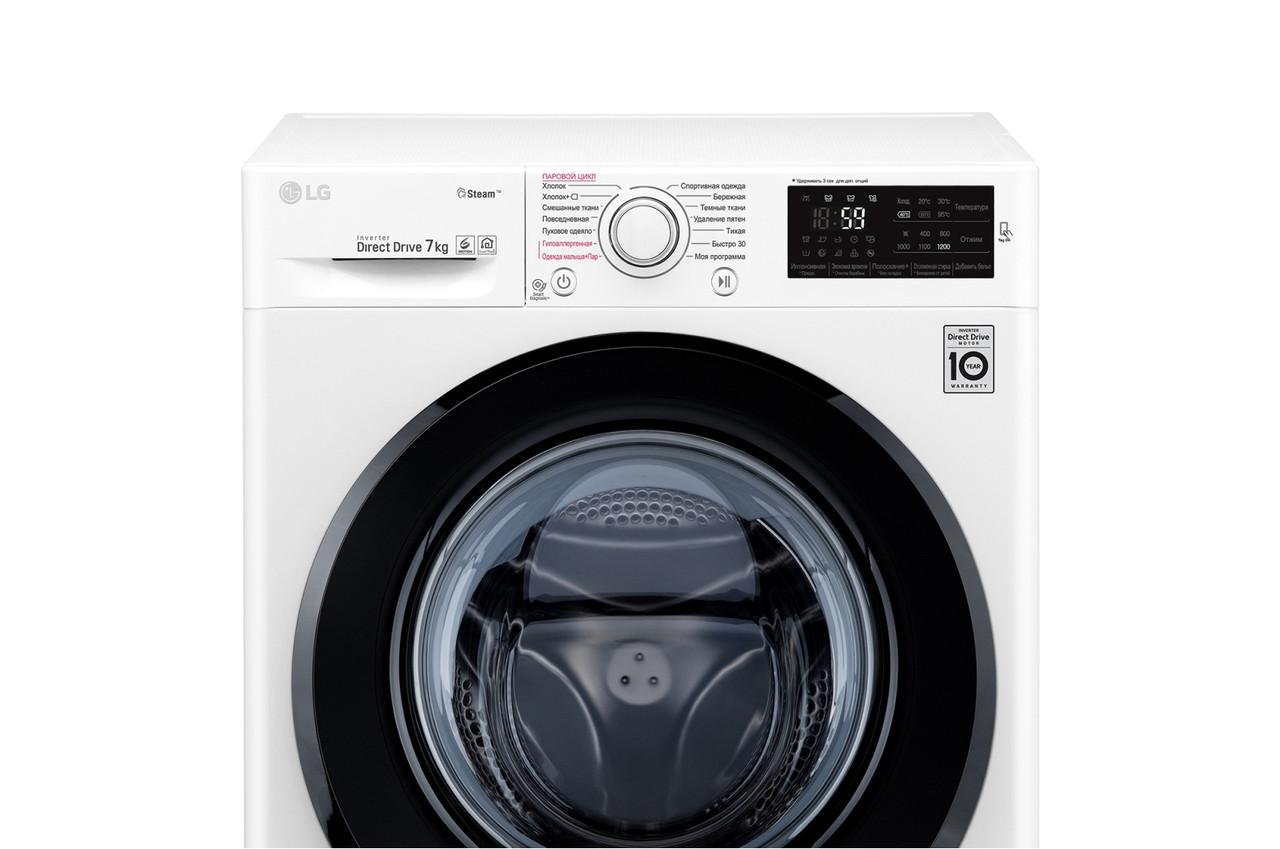 Стиральная машина LG F2M5HS6W White
