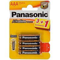 Батарейки Panasonic Alkaline Power LR03APB/4BP AAA 1,5V (4 шт)