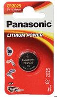 Батарейки Panasonic CR-2025EL/1B (1 шт)