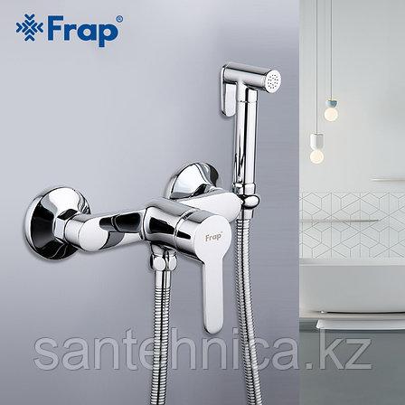 Смеситель с гигиеническим душем Frap F2041 хром, фото 2