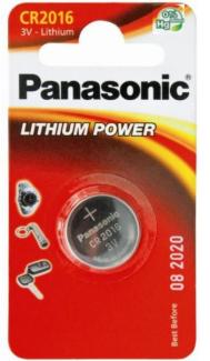 Батарейки Panasonic CR-2016EL/1B (1 шт)