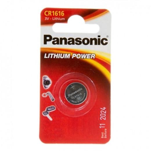 Батарейки Panasonic CR-1616EL/1B (1 шт)