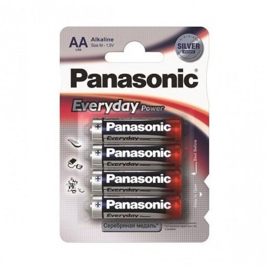 Батарейки Panasonic Every Day Power LR6EPS/4BP AA (4 шт)