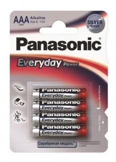 Батарейки Panasonic Every Day Power LR03EPS/4BP AAA (4 шт)