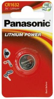 Батарейки дисковые Panasonic CR-1632EL/1B (1 шт)