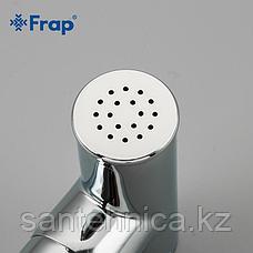 Смеситель с гигиеническим душем Frap F2049 белый, фото 3