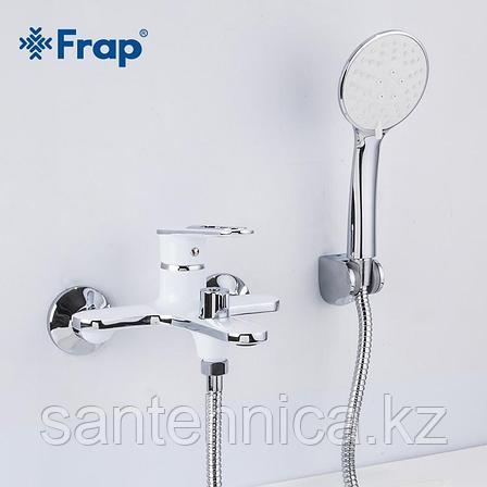 Смеситель для ванны Frap F3249 белый, фото 2